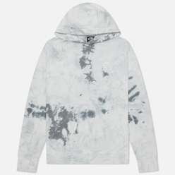 Мужская толстовка Nike Tie-Dye Hoodie Light Smoke Grey/White