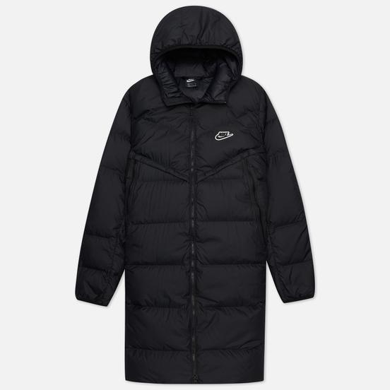 Мужской пуховик Nike Down-Fill Windrunner Black/Black/Black/Black