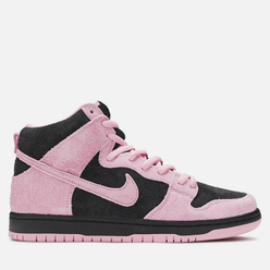 Мужские кроссовки Nike SB Dunk High Pro Premium Invert Celtics Black/Pink Rise/Lucky Green/White