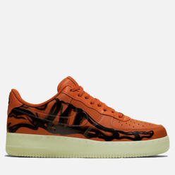 Мужские кроссовки Nike Air Force 1 '07 Skeleton QS Starfish/Starfish/Black