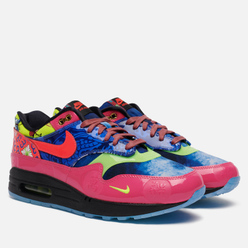 Мужские кроссовки Nike Air Max 1 Premium Chinese New Year Longevity Game Royal/Laser Crimson/Black