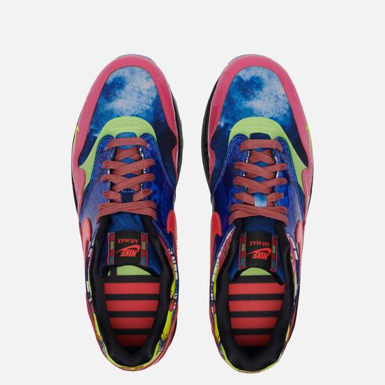 Мужские кроссовки Nike Air Max 1 Premium Chinese New Year Longevity Game Royal/Laser Crimson/Black