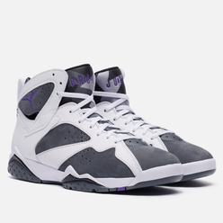 Мужские кроссовки Jordan Air Jordan 7 Retro Flint White/Varsity Purple/Flint Grey/Black