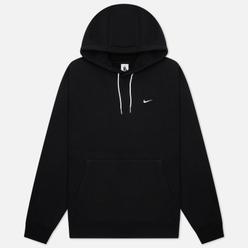 Мужская толстовка Nike NRG Solo Swoosh Fleece Hoodie Black/White