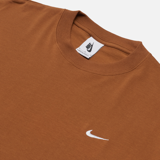 Мужская футболка Nike NRG Solo Swoosh Light British Tan