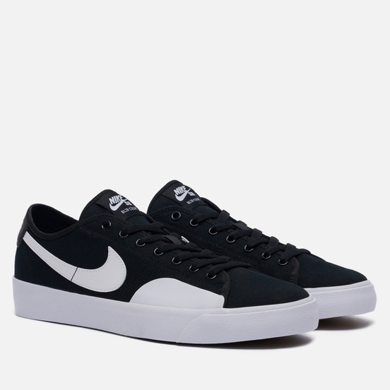 Кроссовки Nike SB BLZR Court Black/White/Black/Gum Light Brown