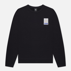 Мужская толстовка Nike SB Stripes Crew Neck Black/White