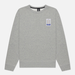 Мужская толстовка Nike SB Stripes Crew Neck Dark Grey Heather/White