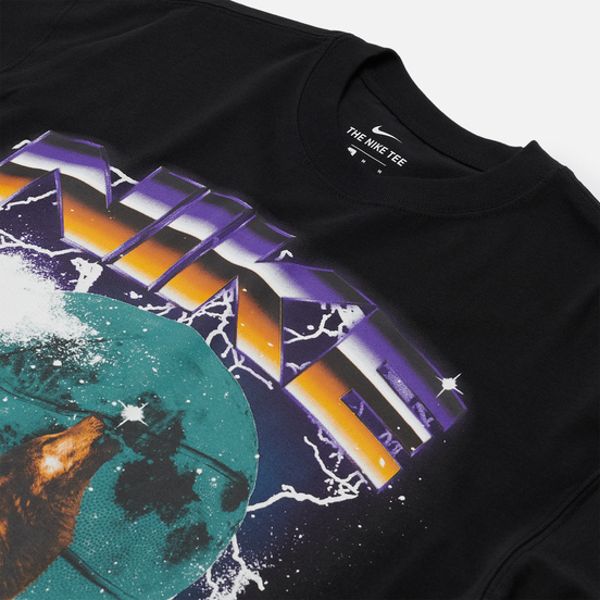 Мужская футболка Nike Howlin Moon Ball Black