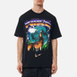 Мужская футболка Nike Howlin Moon Ball Black фото - 2