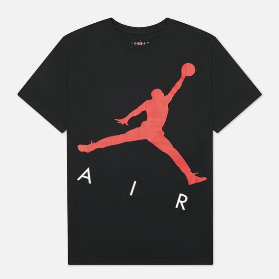 Мужская футболка Jordan Jumpman Air HBR Crew Black/Gym Red
