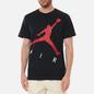 Мужская футболка Jordan Jumpman Air HBR Crew Black/Gym Red фото - 2