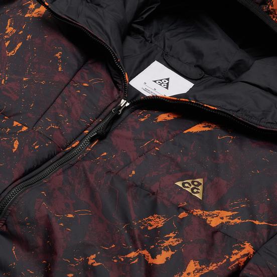 Мужская куртка ветровка Nike ACG NRG Insulated All Over Print Deep Burgundy