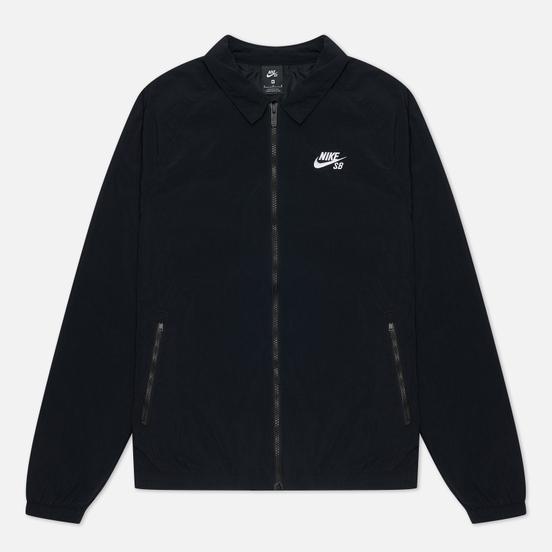 Мужская куртка ветровка Nike SB Essential Black/White