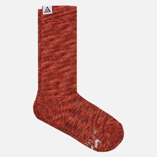 Носки Nike ACG Kelley Ridge Crew Multi-Color/Red