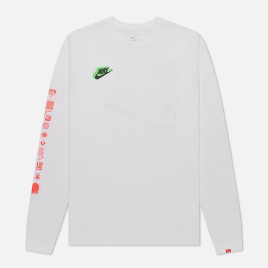 Мужской лонгслив Nike Worldwide White