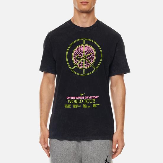 Мужская футболка Nike Music Tour Wash Black