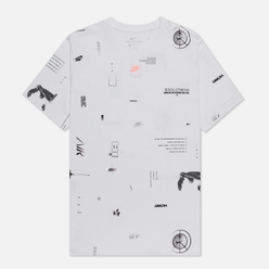 Мужская футболка Nike Music All Over Print White