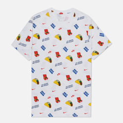 Мужская футболка Nike Food All Over Print White