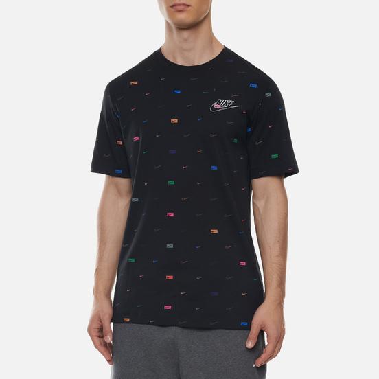 Мужская футболка Nike Mlti-Color All Over Print Black