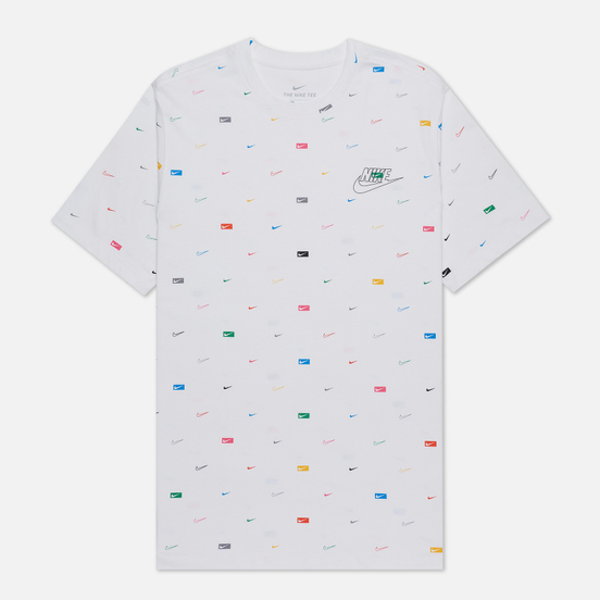 Мужская футболка Nike Mlti-Color All Over Print White