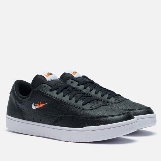 Мужские кроссовки Nike Wmns Court Vintage Premium Black/White/Total Orange
