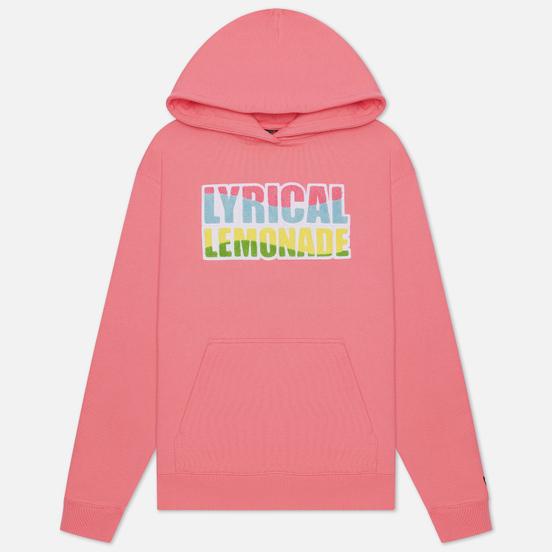 Мужская толстовка Jordan x Lyrical Lemonade Print Hoodie Pink Nebula