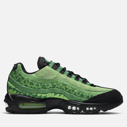 Кроссовки Nike Air Max 95 Naijia Pine Green/Black/Sub Lime/White