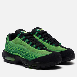 Кроссовки Nike Air Max 95 Naija Pine Green/Black/Sub Lime/White