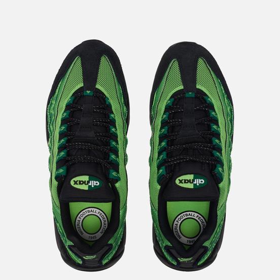 Кроссовки Nike Air Max 95 Naija Pine Green/Black/Sub Lime/White
