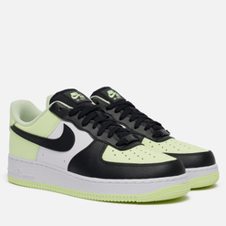 Мужские кроссовки Nike Wmns Air Force 1 '07 Barely Volt/Black/White