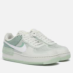 Женские кроссовки Nike Air Force 1 Shadow Spruce Aura/White/Pistachio Frost