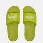Мужские сланцы Nike x Stussy Benassi Bright Cactus/White фото - 1