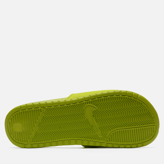 Мужские сланцы Nike x Stussy Benassi Bright Cactus/White