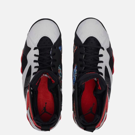 Мужские кроссовки Jordan Air Jordan 7 Retro Greater China White/Chile Red/Black/Metallic Gold