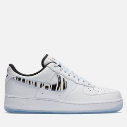 Мужские кроссовки Nike Air Force 1 Low QS South Korea White/Black/Multi-Color
