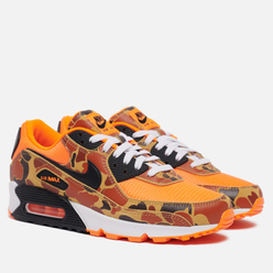 Мужские кроссовки Nike Air Max 90 SP Orange Camo Total Orange/Black