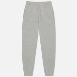 Мужские брюки Nike NRG Solo Swoosh Fleece Grey Heather/White