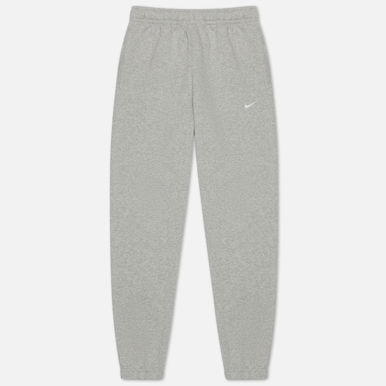 Мужские брюки Nike NRG Solo Swoosh Fleece Grey Heather/White