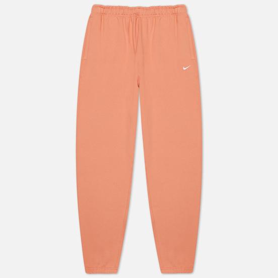 Мужские брюки Nike NRG Solo Swoosh Fleece Healing Orange
