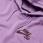 Мужская толстовка Nike SB Icon Essential Logo Hoodie Violet Star/Dark Wine фото - 1