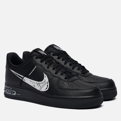 Мужские кроссовки Nike Air Force 1 Low Utility Sketch Pack Black/White/Black