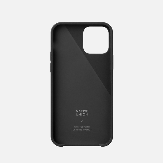 Чехол Native Union Clic Wooden iPhone 12 mini Black