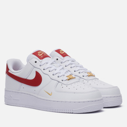 Женские кроссовки Nike Air Force 1 07 Essential White/Gym Red/Gym Red/White