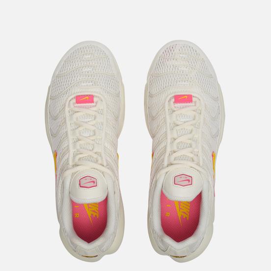 Женские кроссовки Nike Air Max Plus Sail/Opti Yellow/Digital Pink