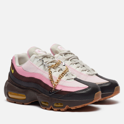 Женские кроссовки Nike Air Max 95 Velvet Brown/Opti Yellow/Light British Tan