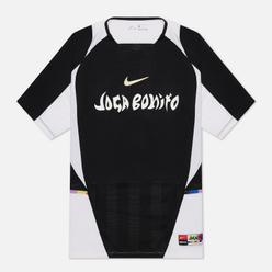 Мужская футболка Nike FC Joga Bonito Home Jersey Black/White/Saturn Gold