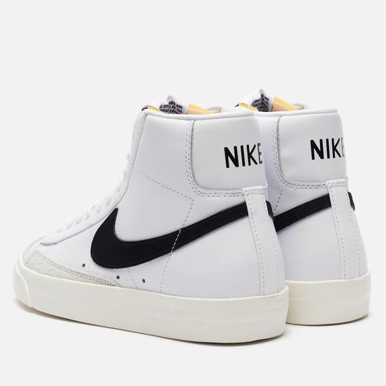 Женские кроссовки Nike Blazer Mid 77 White/Black/Sail