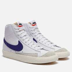 Женские кроссовки Nike Blazer Mid 77 White/Voltage Purple/Sail