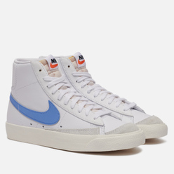 Женские кроссовки Nike Blazer Mid 77 White/Royal Pulse/Hyper Crimson/Black